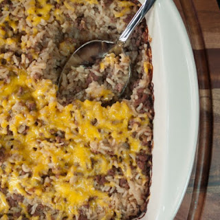 Ground Beef Cheese And Rice Casserole Recipes