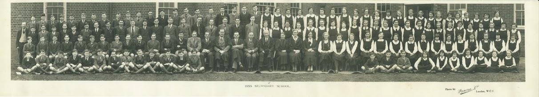 Photo: Diss Secondary School – 1936.