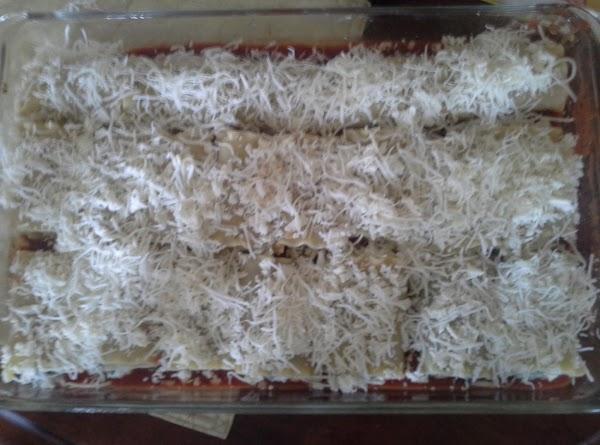 Mertzie's Pesto, Cheese & Spinach Lasagna Rolls Recipe
