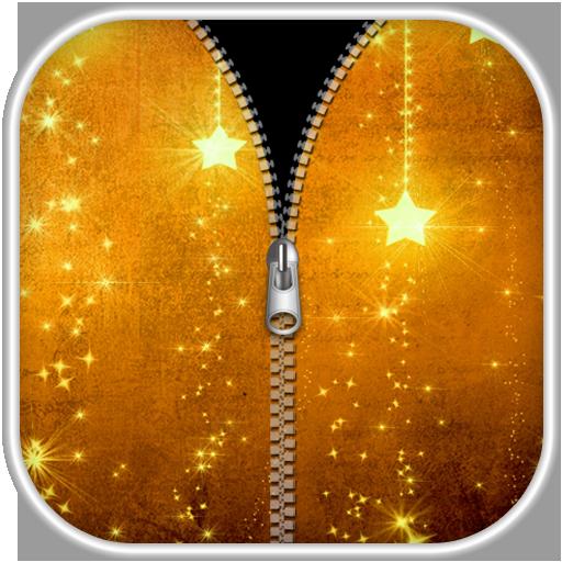 金色拉链锁屏 娛樂 App LOGO-硬是要APP