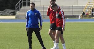Iván Martos y Gaspar Panadero entrenaron con normalidad.