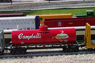 Photo: Cambell's tank car by Scott Weatherford.  HALS - SWLS 2009-0523