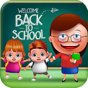 Game Twins Baby First Day at School APK for Windows Phone