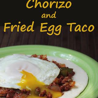 Chorizo and Fried Egg Tacos