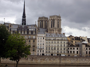 Photo: Riverside view (Notre Dame in background), Paris, France