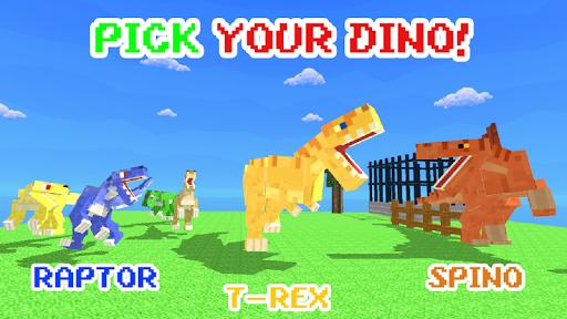 Blocky Dino Park: Apex Predator Arena 0.4 screenshots 1