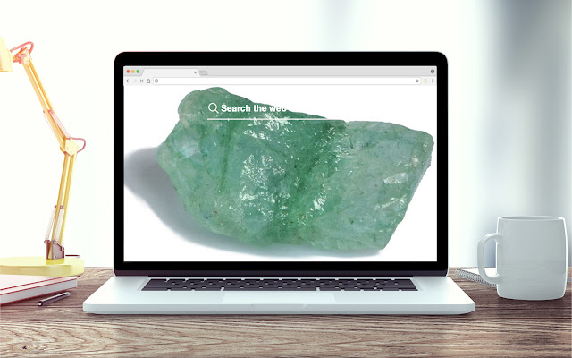 Emerald New Tab Stones Theme