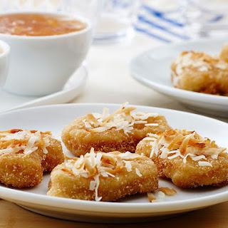 Coconut Gluten Free Chicken Nuggets.