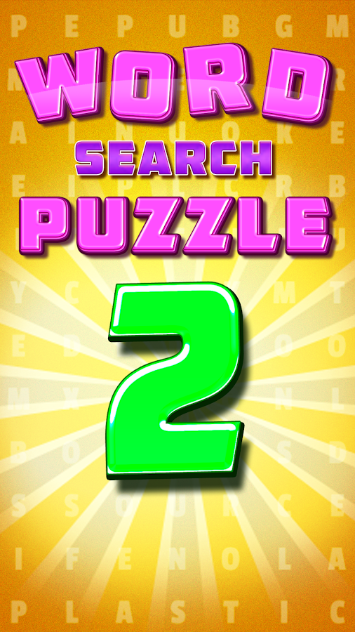 Word Search Puzzle 2 – Words Free Game Make- screenshot