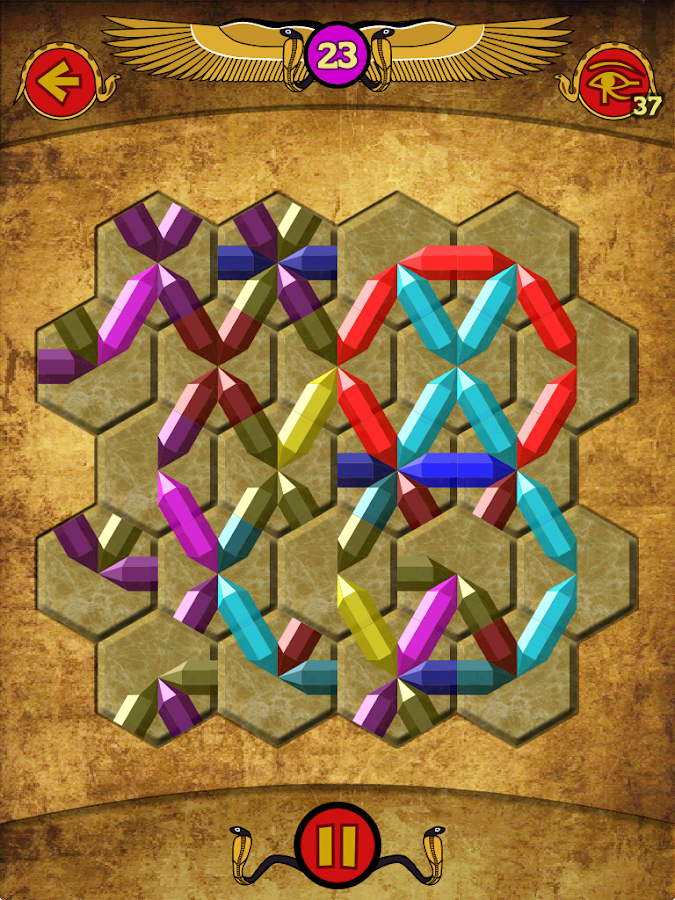 Zircon - crystal puzzle- screenshot