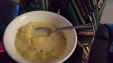 Potato Soup for Pressure Cooker