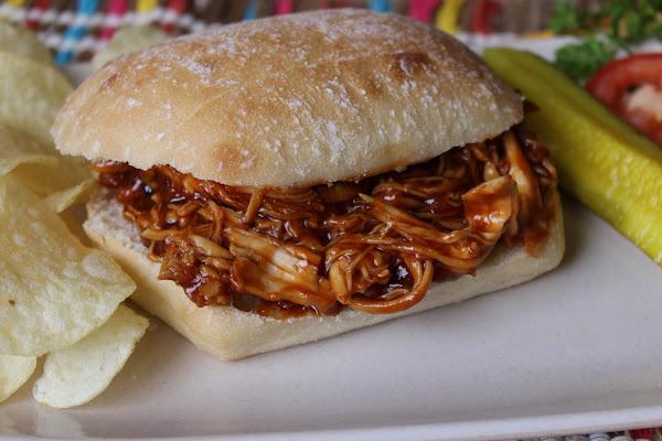 Honey Barbecue Chicken Sandwiches Recipe