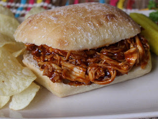 Honey Barbecue Chicken Sandwiches Recipe