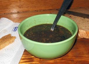Photo: Czarna polewka (zupa z podrobów)
