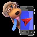 Hound Dog Route Tracker icon
