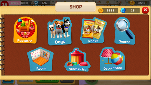 Dog Town: Pet Shop Game, Care & Play with Dog 1.1.62 screenshots 9