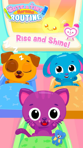 Cute & Tiny Morning Routine - Teeth Care & Hygiene screenshots 1