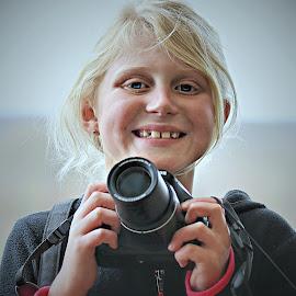 Young Paparazzi by Pieter J de Villiers - Babies & Children Children Candids
