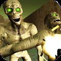 Scary Maze Mummy Shooting Game icon