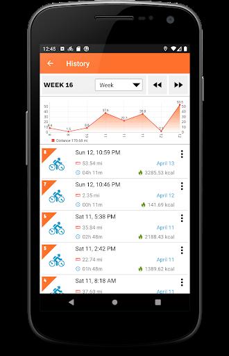Cycling Diary - Bike Tracker screenshot 4