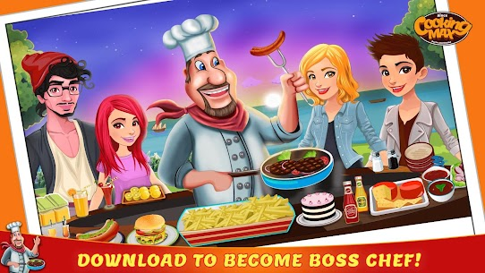 Cooking Max – Mad Chef's Restaurant Games 1