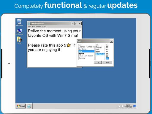 Win7 Simu 2.3.3 screenshots 8