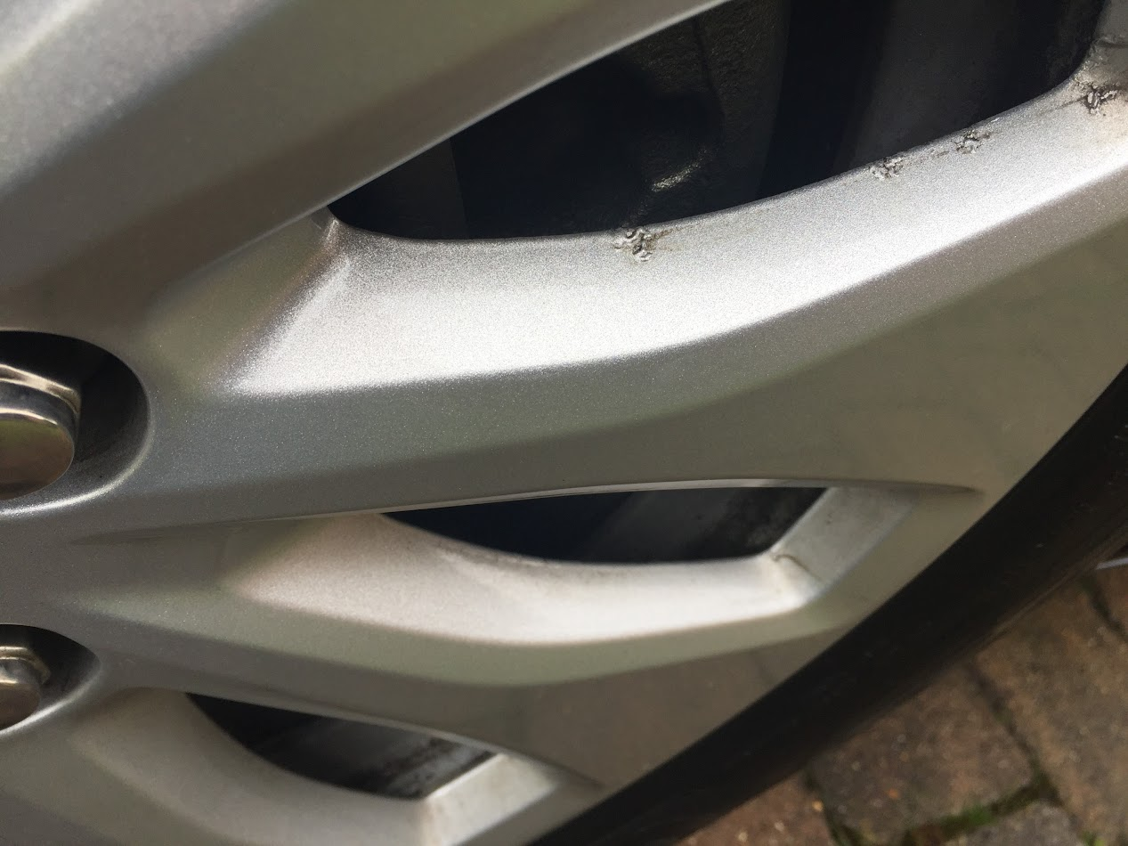 how to clean rim corrosion