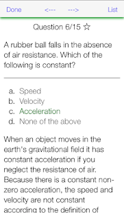 Physics X: College AP SAT MCAT- screenshot thumbnail