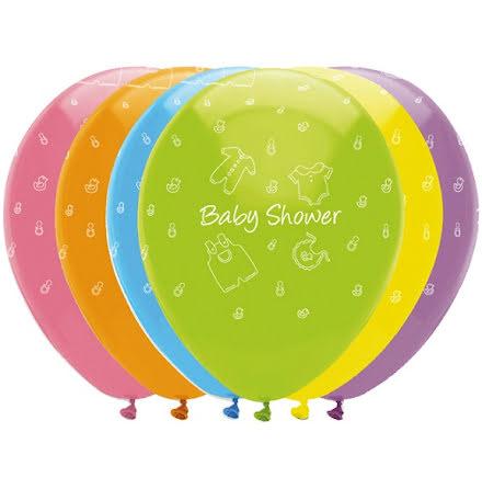 Ballonger Babyshower, 6-pack
