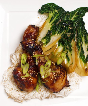 15. Chicken wings with sesame and soy