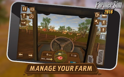 Farmer Sim 2018 (Mod Money)