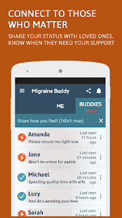 Migraine Buddy Screenshot