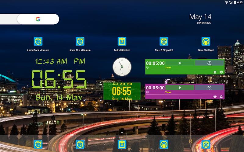 Alarm Clock & Timer & Stopwatch & Tasks & Contacts Screenshot 15