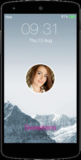 Slider Photo Lock Screen