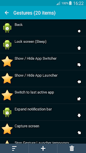 Back Button Gesture Launcher screenshot 0