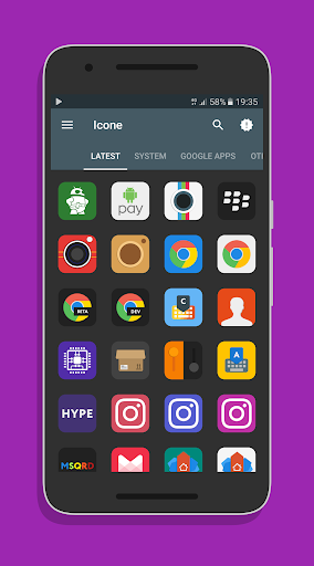 Memies - Icon Pack Aplicaciones para Android screenshot