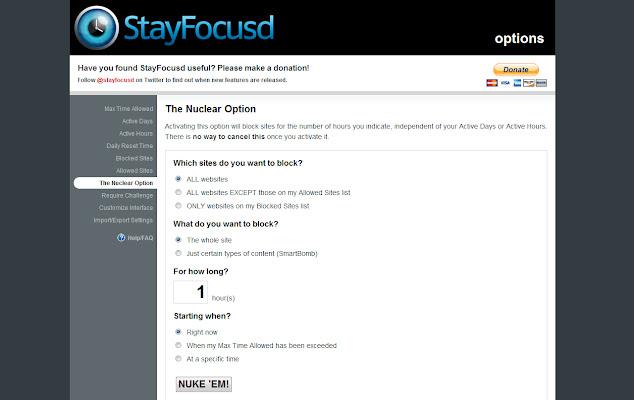 StayFocusd(ステイフォーカス) 1