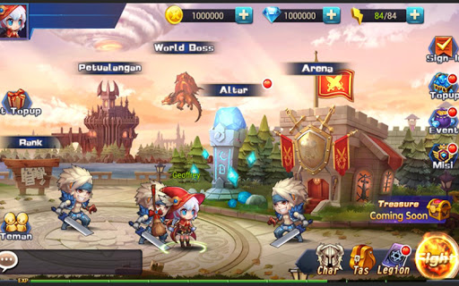 玩免費角色扮演APP|下載Legion Fighters app不用錢|硬是要APP