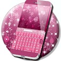 Pink Christmas For GO Keyboard icon