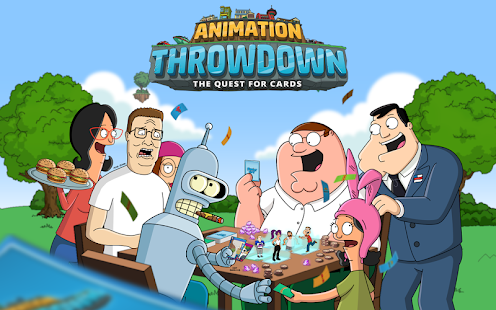 Animation Throwdown: The Collectible Card Game