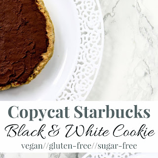 Copycat Starbucks Black & White Cookie