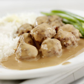 Launa's Easy Swedish Meatballs.