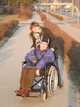 Photo: 09. 03. 2011 roku - z Moniką w drodze do Reni Jędrusik