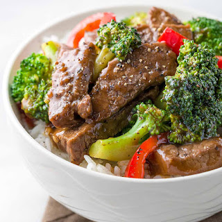 Chinese Beef with Broccoli.