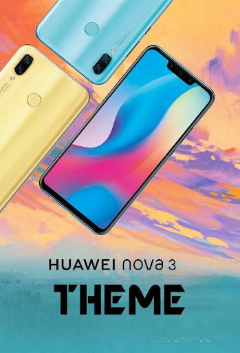 Theme for Huawei Nova 3 - Nova 3i launcher 5.1 screenshots 1