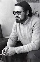 """Photo: Foto y cometarios que nos envía Andrés M.Trapiello: """"A Baldomero le hicieron esta foto para una entrevista que publicó """"Diario de León"""" en 1975. El motivo era la retransmisión de los Oficios de la Semana Santa desde el Santuario y él era el Director de la Escolanía.  También tuvo el detalle de dirigir la Escolanía en mi boda el 23 Marzo de 1974, que celebraron el P. Tello y el P. Torrellas."""""""