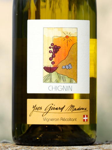 Chignin wine - Jacquère - Savoie wine - Vignoble de la Pierre