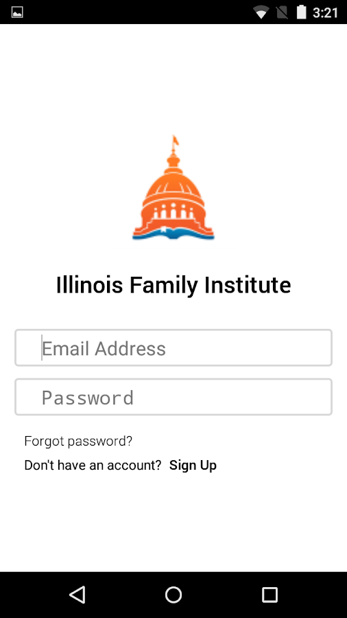 Illinois Family Institute- screenshot