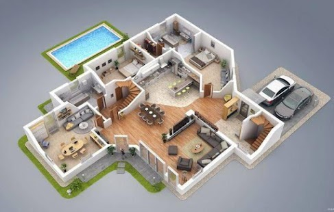 Create floor plan 3d android apps on google play for Creation plan 3d