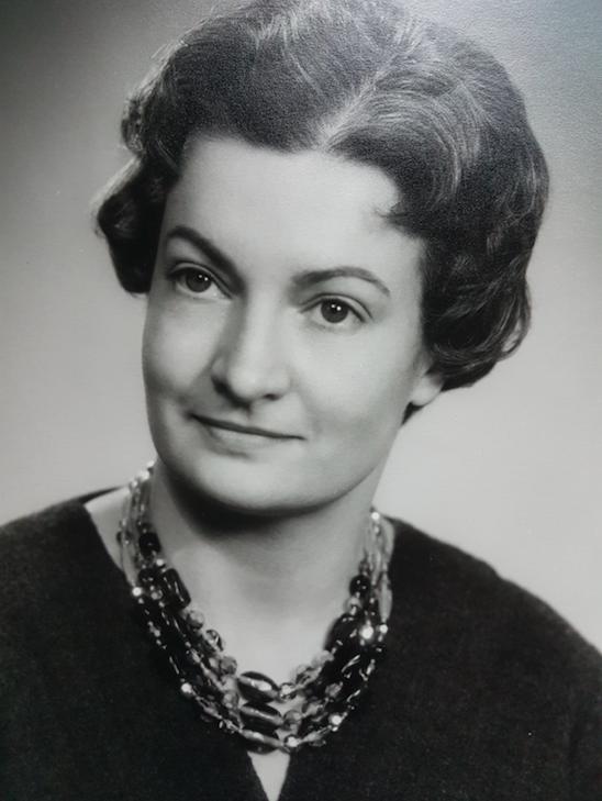 Carla van Steijn op jongere leeftijd
